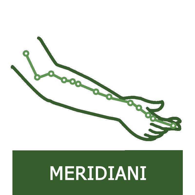 Tragitti dei Meridiani Principali